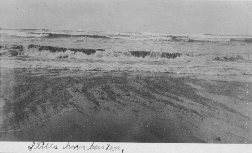 The Pacific Ocean at Eureka, ca. 1928.