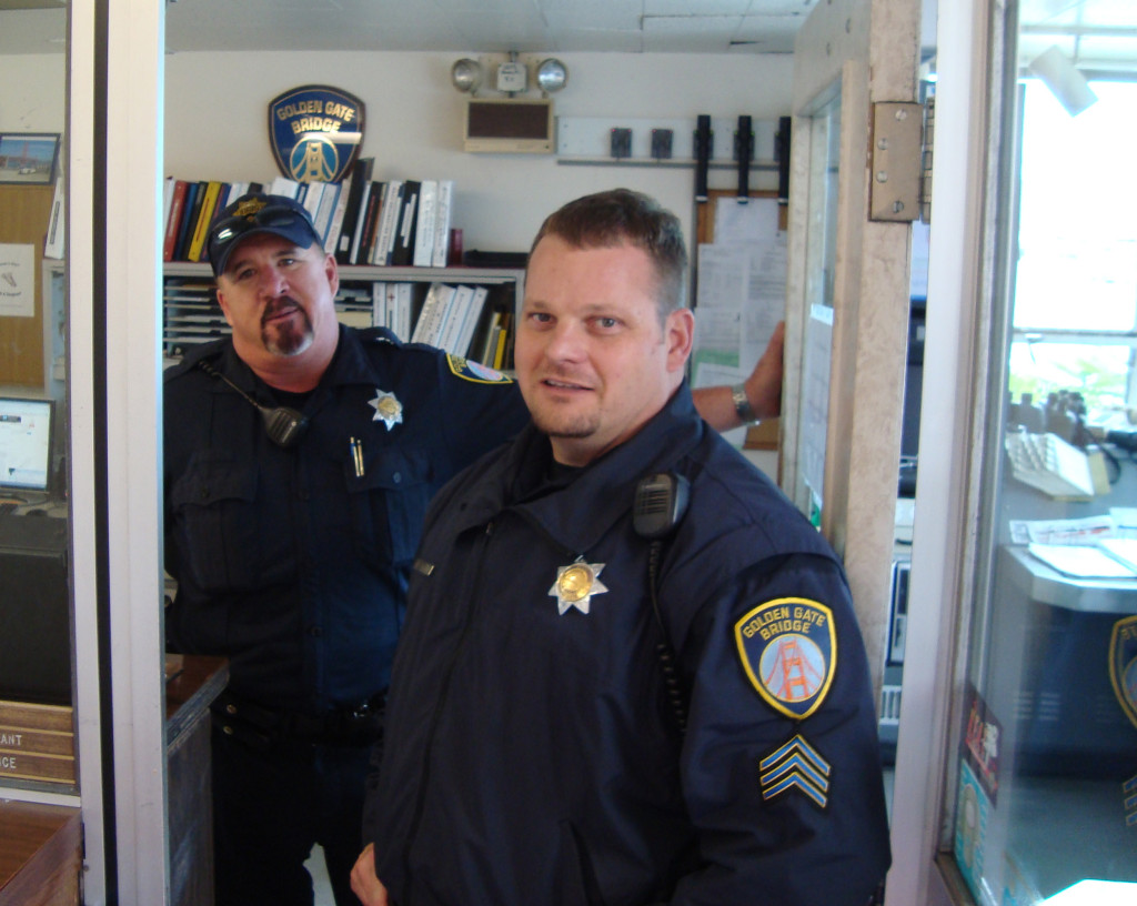 Two enchanting bridge guards I met in 2011, inspiring me to research the Lindros story.